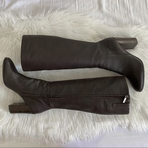 Kenneth Cole Justin Brown Leather Boots